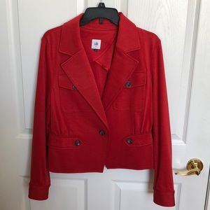 CAbi red jacket 10